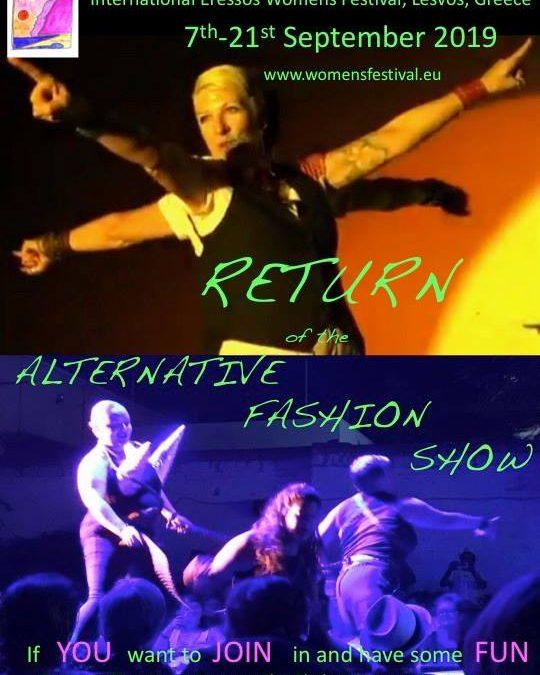 Sappho's Alternative Fashion Show