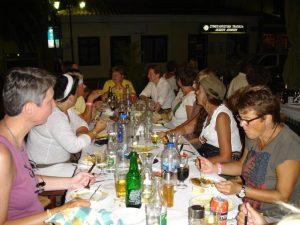 Dinner Walk with Helene & Anna-Britta @ Starts from Sappho Travel