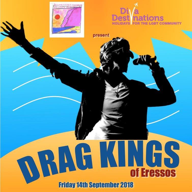 Drag Kings 2018 Eressos Women's Festival