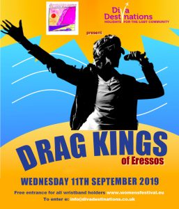 Drag Kings of Eressos @ Cine Sappho Magicnights