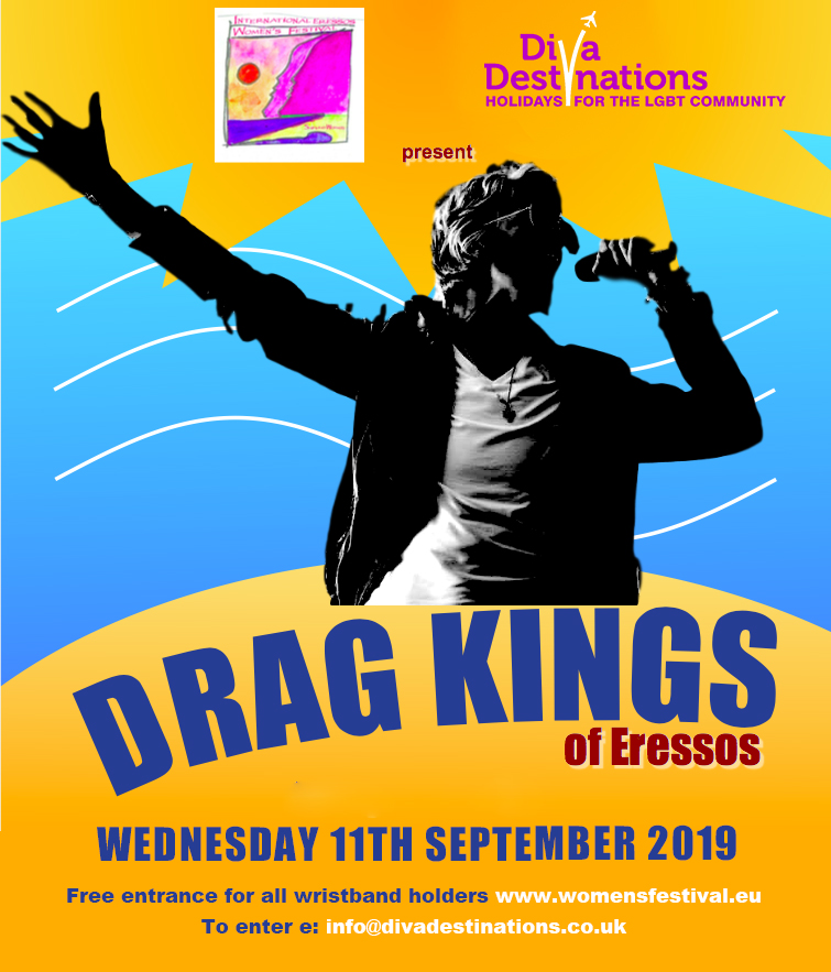 Drag Kings 2019 Eressos Women's Festival
