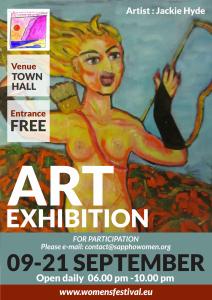 Grand Opening Art Exhibition @ Skala Eressos Town Hall | Skala Eresou | Greece