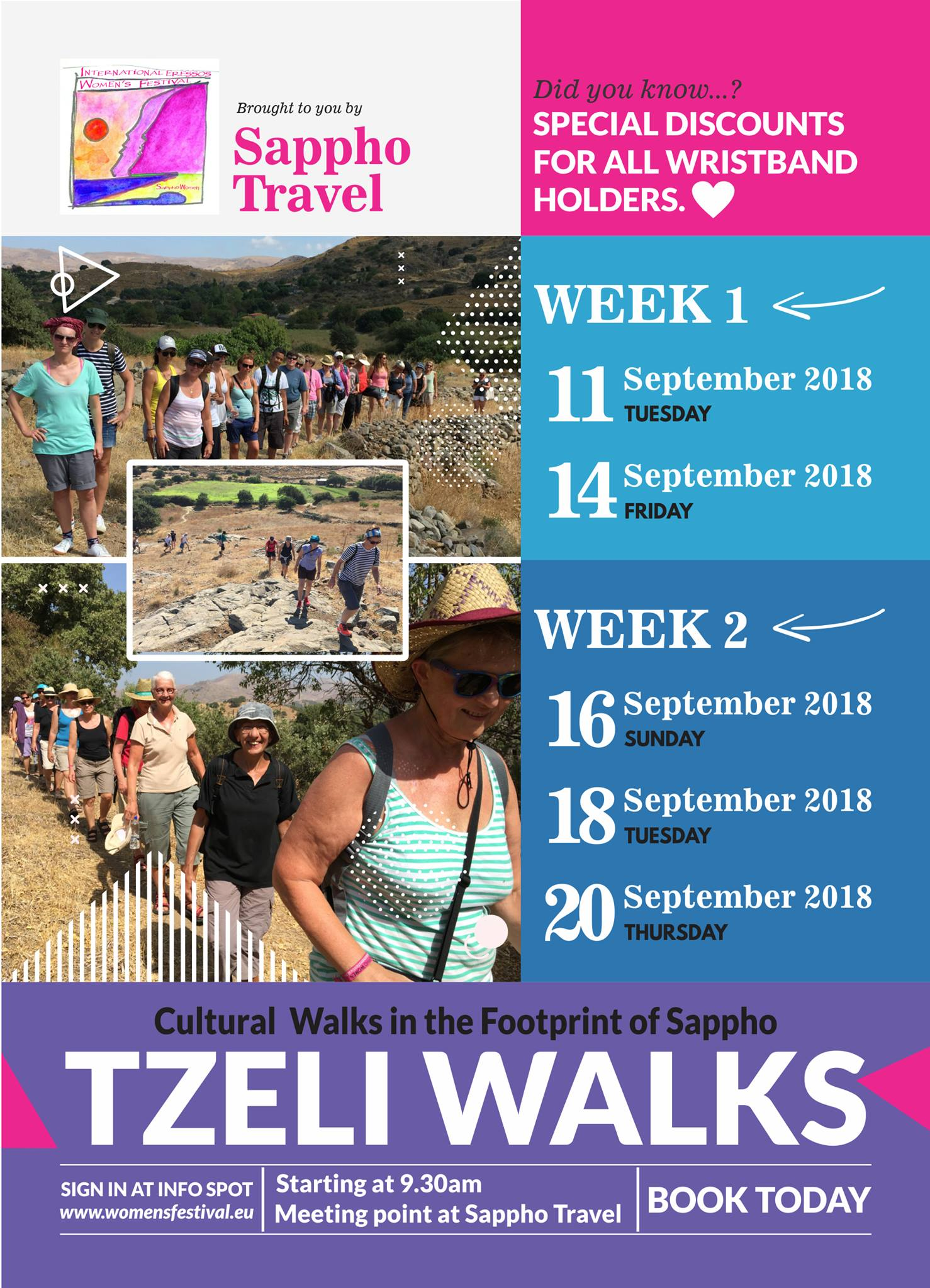 cultural walks with Tzeli