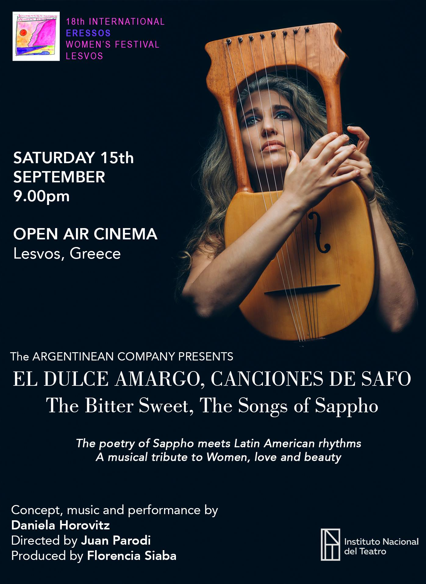 The Bitter Sweet, The Songs of Sappho @ Cine Sappho Magicnights