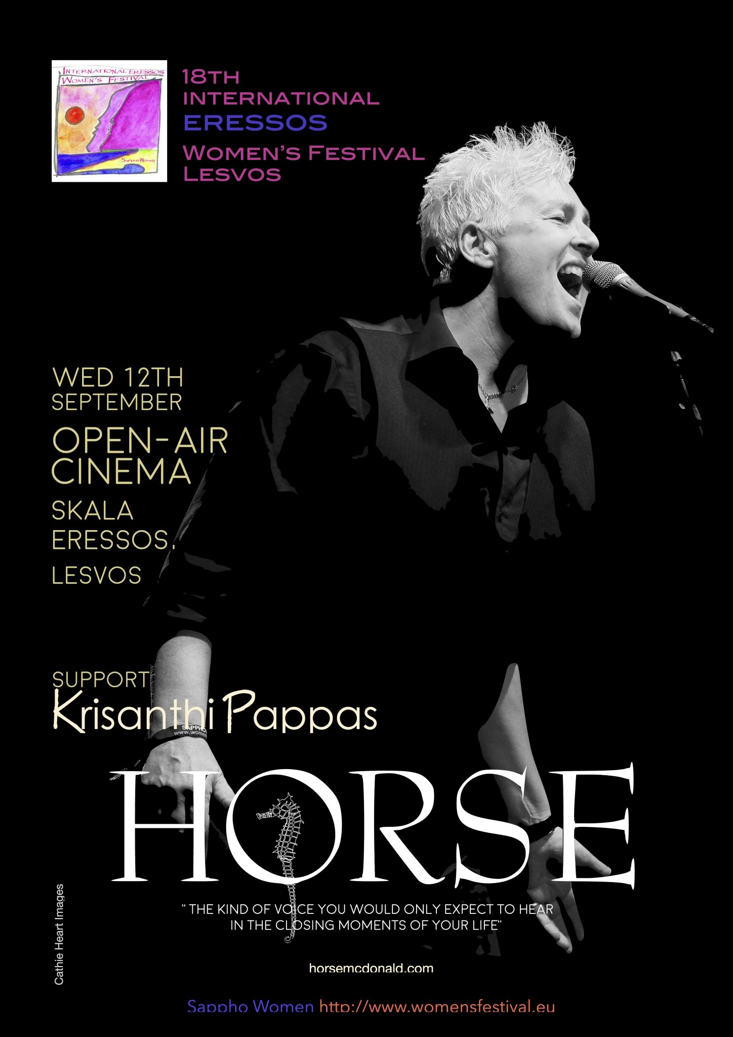 Horse & Krisanthi Pappas in Concert @ Cine Sappho Magicnights