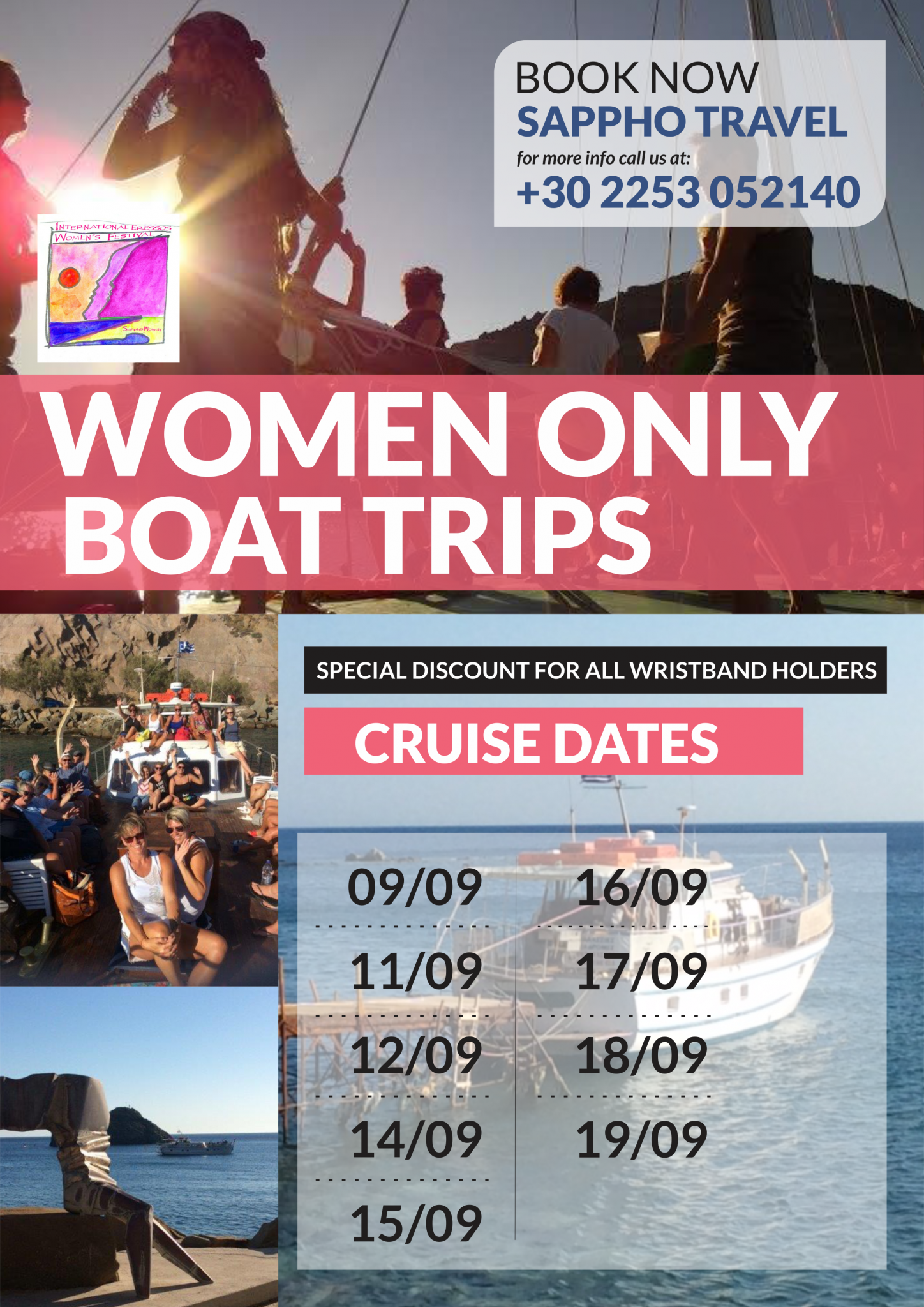Women Only Boat Cruises / Trips