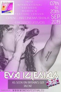 Eva Iglesias in Concert @ Cine Sappho Magicnights