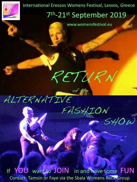 the alternative fashion show sappho festival