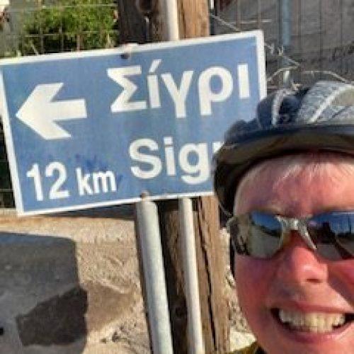 Guided Mountain Bike Ride to Sigri